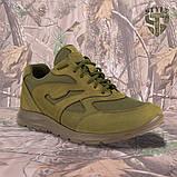 Кросівки трекінгові PANTHERA олива кордура, фото 3