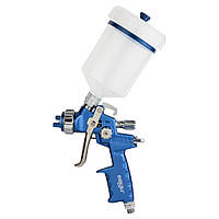 Фарборозпилювач HVLP Ø1.4мм 170-285л/хв 2.5 бар/б 500мл (пласт) REFINE (6812401)