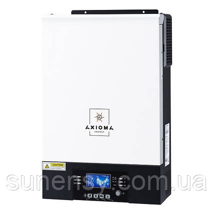 Гибридный ИБП 5000Вт, 48В + МППТ на 5кВт, ISMPPT BFP 5000 (Battery Free+Parallel), AXIOMA energy, фото 2