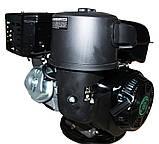 Двигатель бензиновый GrunWelt GW460F-S (CL) (центробежное сцепление, 18 л.с.), фото 3
