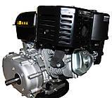Двигатель бензиновый GrunWelt GW460F-S (CL) (центробежное сцепление, 18 л.с.), фото 7