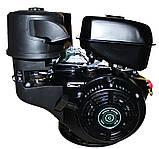 Двигатель бензиновый GrunWelt GW460F-S (CL) (центробежное сцепление, 18 л.с.), фото 6