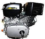 Двигатель бензиновый GrunWelt GW460F-S (CL) (центробежное сцепление, 18 л.с.), фото 5