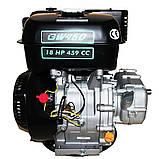 Двигатель бензиновый GrunWelt GW460F-S (CL) (центробежное сцепление, 18 л.с.), фото 8