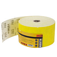 Шліфувальний папір рулон 115мм×50м P80 SIGMA (9114251)