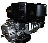 Двигатель бензиновый GrunWelt GW460FE-S (CL) (центробежное сцепление, эл/старт), фото 3