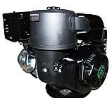 Двигатель бензиновый GrunWelt GW460FE-S (CL) (центробежное сцепление, эл/старт), фото 5