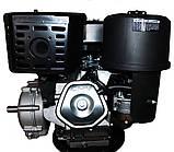 Двигатель бензиновый GrunWelt GW460FE-S (CL) (центробежное сцепление, эл/старт), фото 7