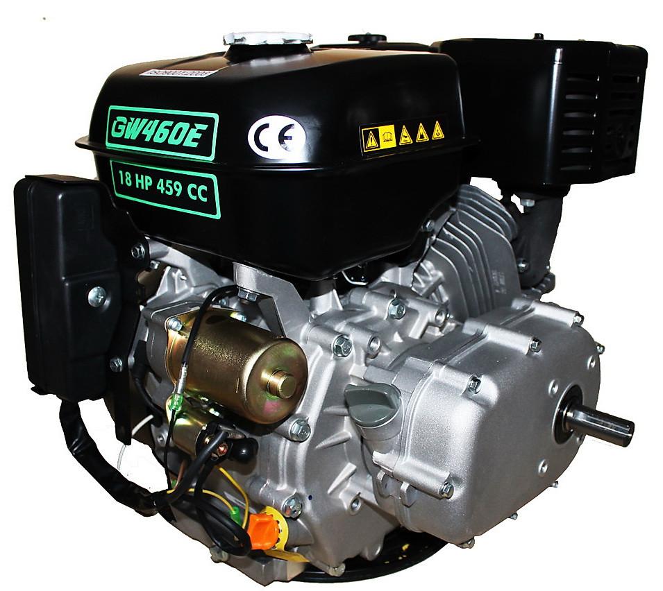 Двигатель бензиновый GrunWelt GW460FE-S (CL) (центробежное сцепление, эл/старт)