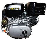 Двигатель бензиновый GrunWelt GW460FE-S (CL) (центробежное сцепление, эл/старт), фото 6
