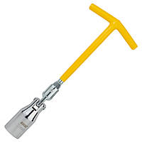 Ключ свічний з шарніром 21мм SIGMA (6030441)