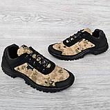 Мужские кроссовки на протекторной подошве (Кз-16зл), фото 6