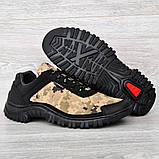 Мужские кроссовки на протекторной подошве (Кз-16зл), фото 7