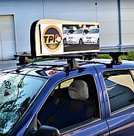 Видеоэкран на крышу авто