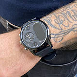 Розумні годинник Smart Watch Max Robotics Hybrid Sporttech ZX-01 BLACK Гібрид Smart Watch механіка і, фото 4