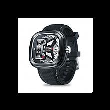 Умные смарт часы Smart Watch Max Robotics Hybrid 2 с измерением давления (Черный)
