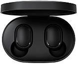 Бездротові навушники Xiaomi Redmi AirDots Black (Репліка Люкс), фото 2