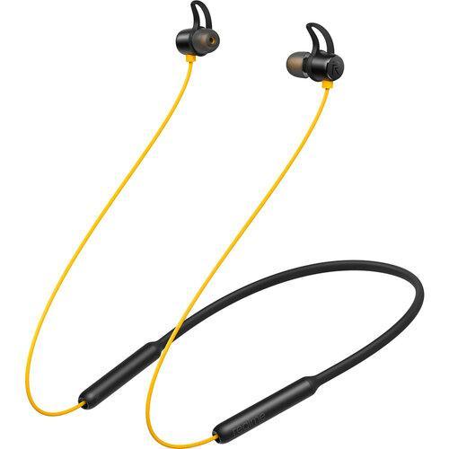 Навушники вакуумні бездротові з мікрофоном Realme нирки золото Wireless Yellow (люкс копія)