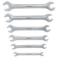 Ключи рожковые 6шт 6-17мм CrV satine SIGMA (6010311)
