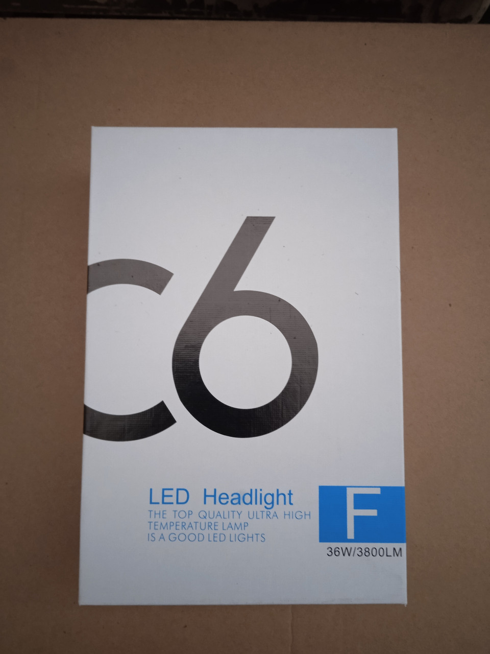 КОМПЛЕКТ LED лампы H4 C6