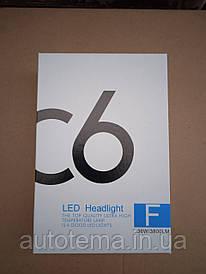 КОМПЛЕКТ LED лампи H4 C6