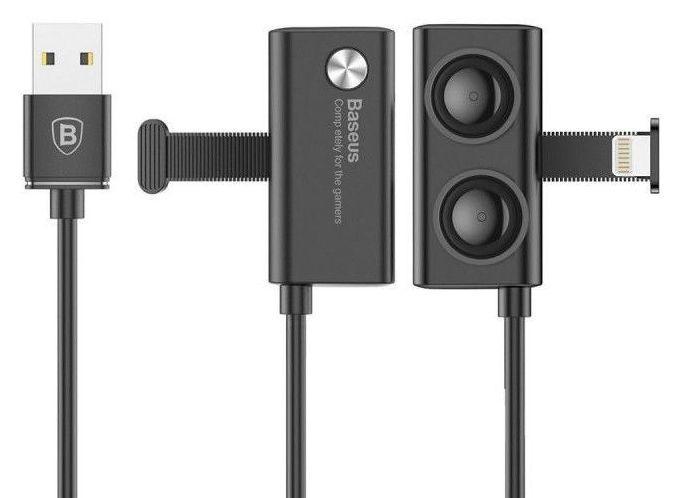 Кабель USB Baseus Gaming Suction Cup Lightning 3m Black (CALXP-E01)