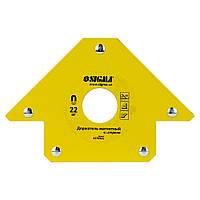 Магніт для зварювання стріла 22кг 90×90 мм (45,90,135°) SIGMA (4270321)