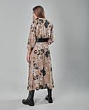 Платье принтованное прямого силуэта. Турция, фото 3