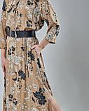 Платье принтованное прямого силуэта. Турция, фото 2