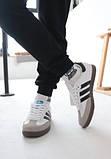 Кроссовки мужские Adidas Samba Адидас Самба кросівки чоловічі (41,42,43,44,45), фото 2