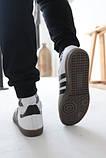 Кроссовки мужские Adidas Samba Адидас Самба кросівки чоловічі (41,42,43,44,45), фото 6