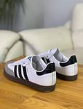 Кроссовки мужские Adidas Samba Адидас Самба кросівки чоловічі (41,42,43,44,45), фото 9