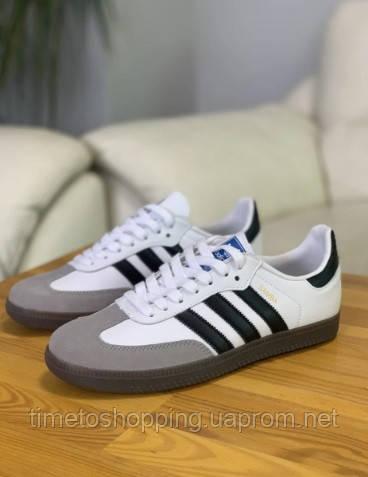 Кроссовки мужские Adidas Samba Адидас Самба кросівки чоловічі (41,42,43,44,45)