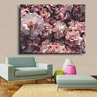 Картина на холсте Rose 45 см на 60 см ручная работа сосновый подрамник
