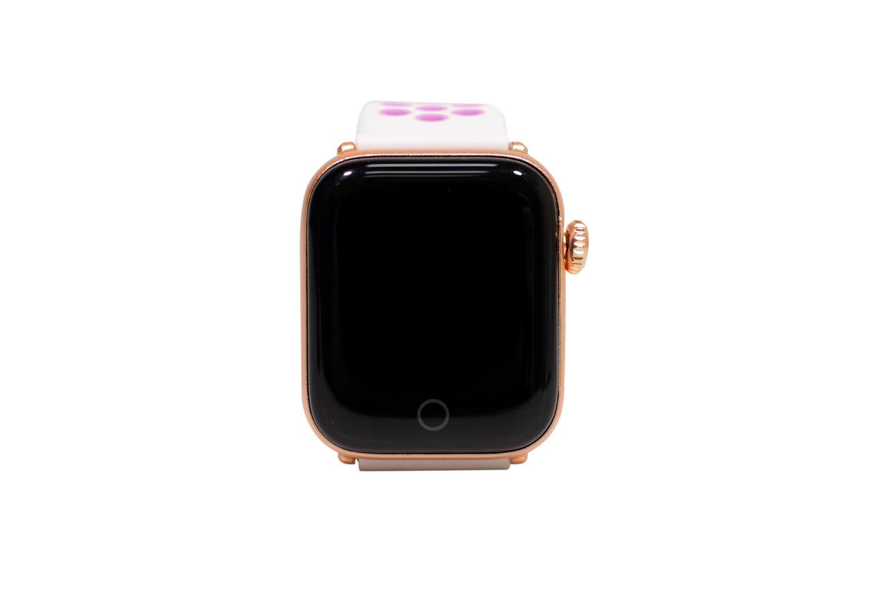 Смарт Часы Smart Watch Z7 (Умные Фитнес Часы, Спортивные Часы ЛУЧШАЯ ЦЕНА золотые-бело-розовые)