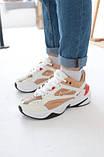 Кросівки жіночі Nike M2K Tekno Beige Найк М2К Текно Бежеві кросівки жіночі (36,37,38,39,40), фото 5