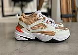 Кросівки жіночі Nike M2K Tekno Beige Найк М2К Текно Бежеві кросівки жіночі (36,37,38,39,40), фото 4