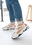 Кросівки жіночі Nike M2K Tekno Beige Найк М2К Текно Бежеві кросівки жіночі (36,37,38,39,40), фото 9