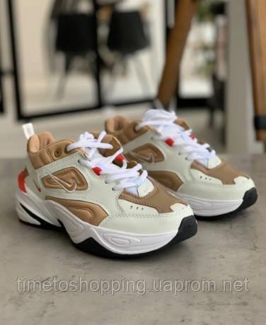 Кросівки жіночі Nike M2K Tekno Beige Найк М2К Текно Бежеві кросівки жіночі (36,37,38,39,40)