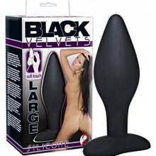 Анальная пробка Black Velvets Large средняя