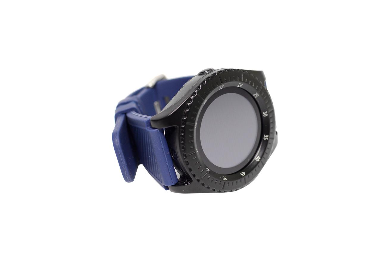 Смарт Часы Smart Watch Z3 (Умные Фитнес Часы, Спортивные Часы ЛУЧШАЯ ЦЕНА чёрно-синие)