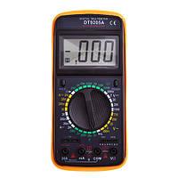 Цифровой мультиметр (Тестер)  DT9205A, фото 1