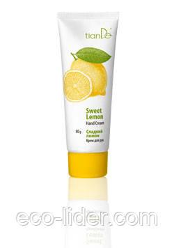 Крем для рук «Сладкий лимон» TianDe, 80 мл.