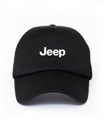 Спортивная кепка Jeep, Джип, тракер, летняя кепка, мужская, женская, черного цвета, копия