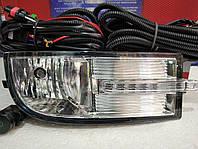 Противотуманные фары (комплект) Chevrolet Aveo Sedan 2006 - 12 c функцией ДХО Led и комплектом проводов