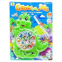 """Интерактивная игрушка """"Рыбалка: Динозаврик"""", зеленый 8866A"""