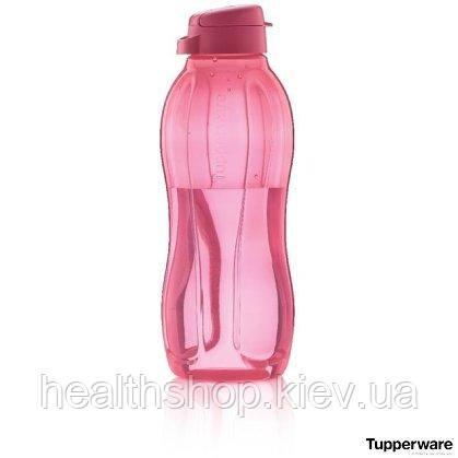 Эко-бутылка 1,5л розовая, многоразовая бутылка для воды Tupperware (Оригинал) Тапервер