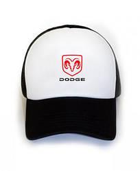 Спортивная кепка Dodge, Додж, тракер, летняя кепка, мужская, женская, черного цвета, копия