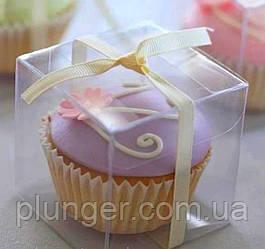 Упаковка для міні десертів, коробочка розміром 10х10х10 см (ціна за 1 шт)