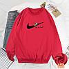 Демисезонный пуловер со спортивным значком 44-48 (в расцветках), фото 2